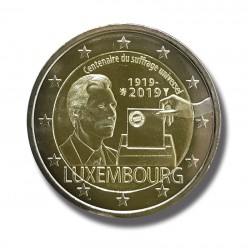 2 Euros Luxembourg 2019 -...