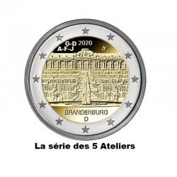 2 Euros Allemagne 2020...