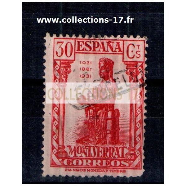Espagne - Numéro 480 - Oblitéré