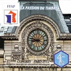 Bloc FFAP Passion du Timbre...