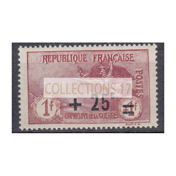 France - Numéro 168 - Neuf sans Charnières