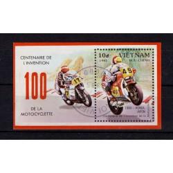 Vietnam Bloc timbre...