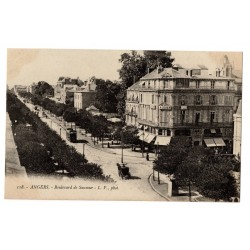CPA (49) Angers - Boulevard...