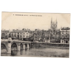 CPA - (49) Angers - Le Pont...
