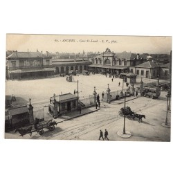 CPA - (49) Angers Gare...