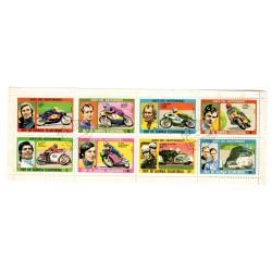Série 8 timbres Thématiques...