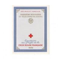 Carnet croix rouge 1959 - Neuf**