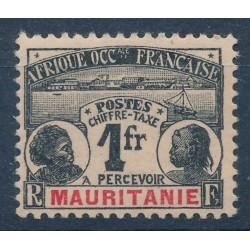 Mauritanie Taxe - Numéro 6...