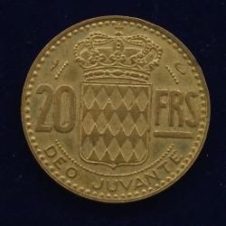 20 Francs Monaco - 1951