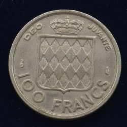 100 Francs Monaco - 1956