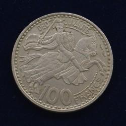 100 Francs Monaco - 1950