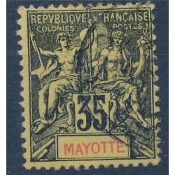 Mayotte - Numéro 18 - Oblitéré
