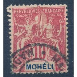 Mohéli - Numéro 5 - Oblitéré