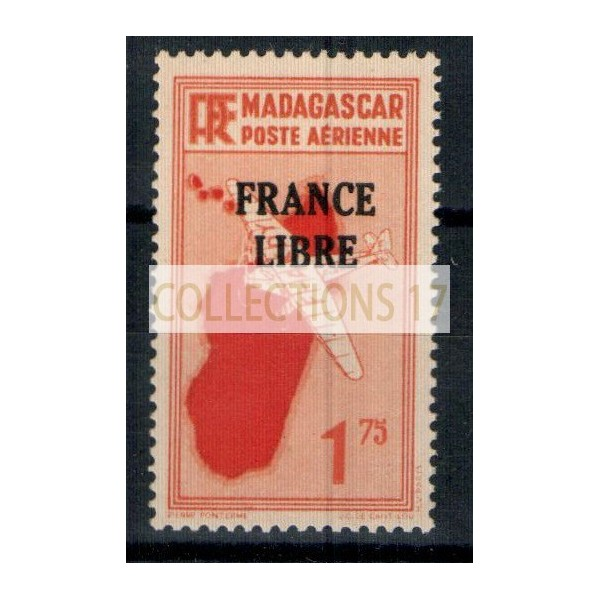 Madagascar numéro PA 46 - Neuf sans charnière