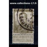Belgique - Numéro 112 - Oblitéré