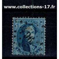 Belgique - Numéro 15A - Oblitéré