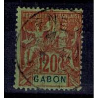 Gabon - Numéro 22 - oblitéré