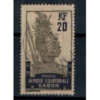 Gabon - Numéro 55 - oblitéré