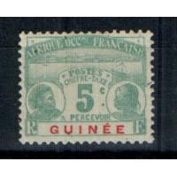 Timbres de Guinée - Numéro Taxe 8 - neuf avec charnière