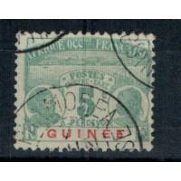 Timbres de Guinée - Numéro Taxe 8 - Oblitéré