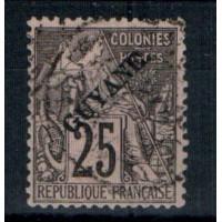 Guyane - Numéro 23 - Oblitéré