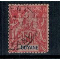 Guyane - Numéro 40 - Oblitéré