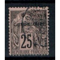 Guadeloupe - numéro 21 - oblitéré