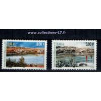 St Pierre & Miquelon - Numéro 744 et 745 - Neuf sans charnières