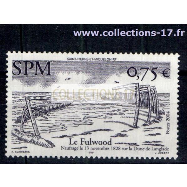 St Pierre & Miquelon - Numéro 822 - Neuf sans charnières