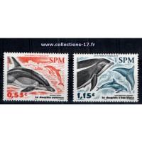 St Pierre & Miquelon - Numéro 843 et 844 - Neuf sans charnières