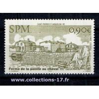 St Pierre & Miquelon - Numéro 851 - Neuf sans charnières