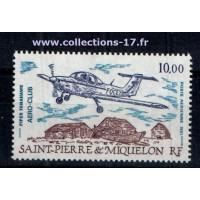 St Pierre & Miquelon - Numéro PA 69 - Neuf sans charnières
