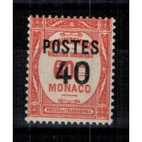 Monaco - Numéro 146 - Neuf avec charnière