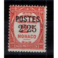Monaco - Numéro 152 - Neuf sans gomme