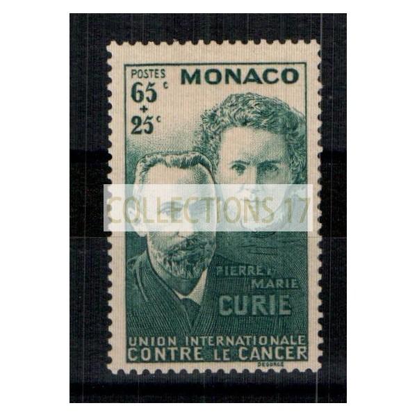 Monaco - Numéro 167 - Neuf avec charnière