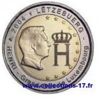2 €uros Luxembourg 2004