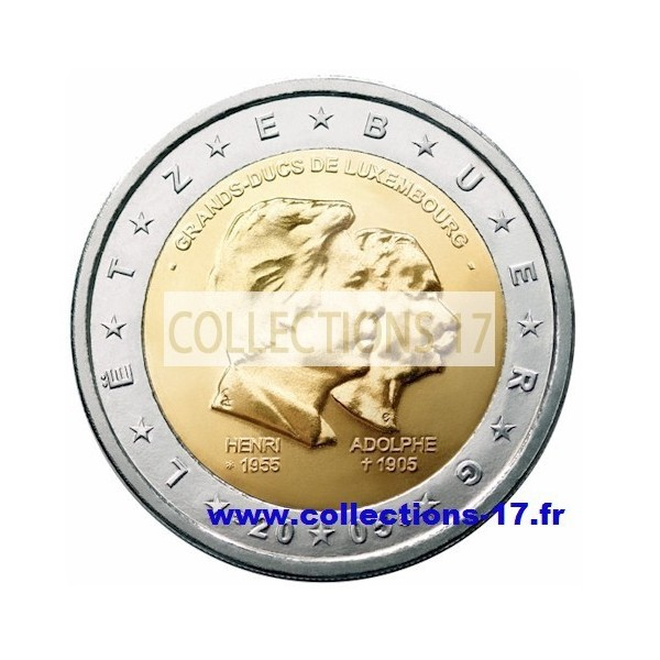 2 €uros Luxembourg 2005