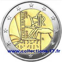 2 €uros Italie 2009 (UNC Sortie de Rouleau)