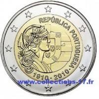 2 €uros Portugal 2010 (UNC Sortie de Rouleau)