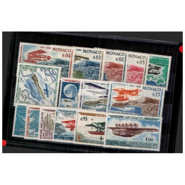 Monaco - Numéro 637 à 651 - Neuf avec charnière