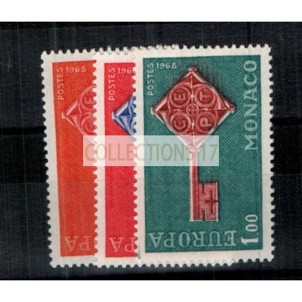Monaco - Numéro 749 à 751 - Neuf avec charnière