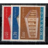 Monaco - Numéro 789 à 791 - Neuf avec charnière