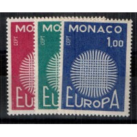 Monaco - Numéro 819 à 821 - Neuf sans charnière
