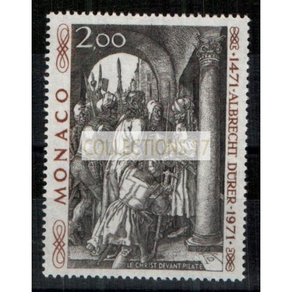 Monaco - Numéro 876 - Neuf avec charnière