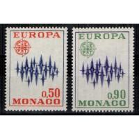Monaco - Numéro 883 et 884 - Neuf sans charnière