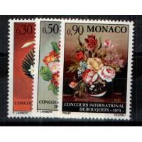 Monaco - Numéro 897 à 899 - Neuf avec charnière
