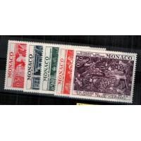 Monaco - Numéro 905 à 909 - Neuf avec charnière
