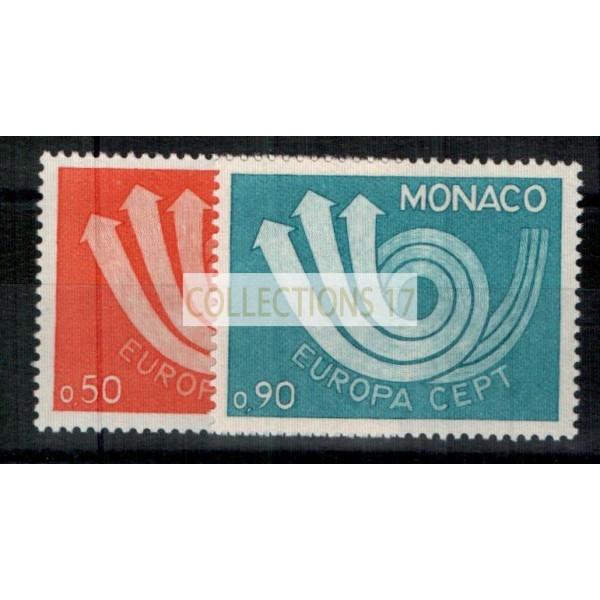 Monaco - Numéro 917 et 918 - Neuf avec charnière