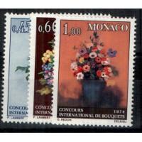 Monaco - Numéro 948 à 950 - Neuf sans charnière