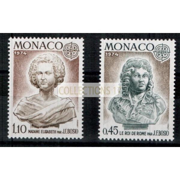 Monaco - Numéro 957 et 958 - Neuf avec charnière